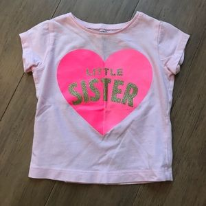✨5️⃣ for $🔟✨ Little Sister tee